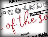 Locale Eatery Pop-Up Menu + Flyer