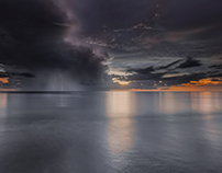 Thunderstorm at Naples, FL