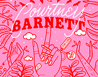 Courtney Barnett Tour Poster