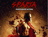 Sparta 300 – Photoshop Action