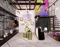 3D Interiors Digital paint and 3D Exhibit Designs