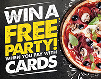 Swipe & Win - Pizza Hut Tanzania