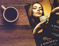 Coffee Lounge Menu Design