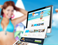 Travel Services Website Design