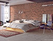 1995 LOFT-BEDROOM