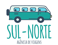 Sul-Norte Logo Design