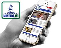Muntada Aid Charity Web App