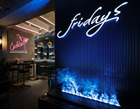 """Bar lounge K-Render's Project""""Friday"""""""