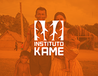 Instituto Kame - Branding, Website & Graphic Material