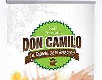 Pendón cafe Don Camilo