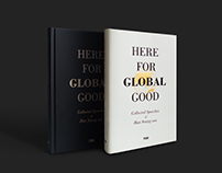 Here for Global Good Book Cover / Editorial, Graphic