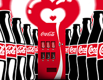 Coca-Cola / Görünmez Coca-Cola Makinesi