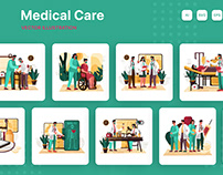 M205_Medical Care Illustrations