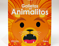 Packaging: Galletas de animalitos Cuétara