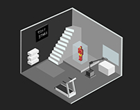 Isometric work- first try