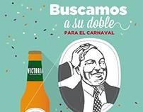 CERVEZAS VICTORIA · Campaña Carnaval