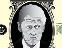Humorous Bill Clinton Illustration