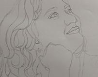 Portrait Sketching - WIP