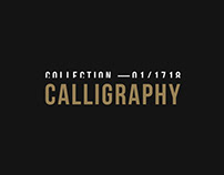 Calligraphy collection —01/1718