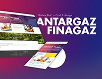 AntargazFinagaz - Ux & Ui Design