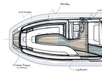 Yacht Tender Interior Design- Phase 1