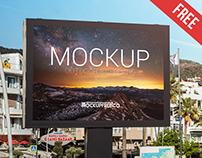 Outdoor Billboard – Free PSD Mockup