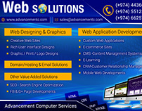 Advancement Computers - Leaflet / E- flyer