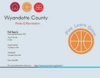 Wyandotte County - Parks & Rec: Logo redesign