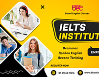 BEC- English Speaking Social Media banner design
