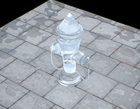 How to create water on the floor in 3DsMax