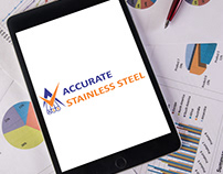 Accurate Stainless Steel Logo Design