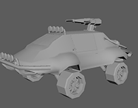 Vehicle 3D Modelling