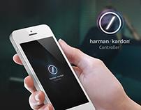 Haman Kardon Controller app - UI/UX Design Concept
