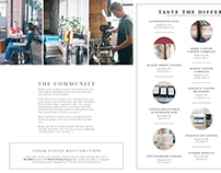Creating a Coffee Culture Layout Design