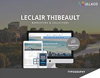 Leclair Thibeault Website Design 2