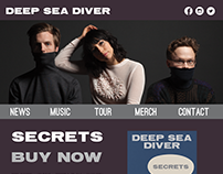 Deep Sea Diver Website
