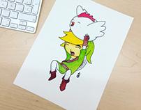 Link &Cucco
