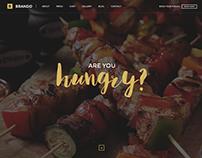 Brando Restaurant Wordpress Theme