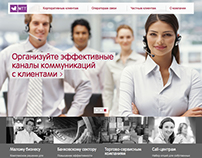 Company website of MTT