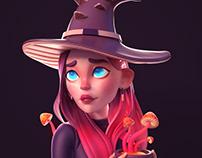 Witch Sculpt