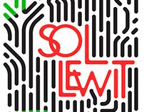 Sol Lewitt Exhibition Poster