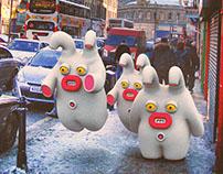 Unusual tourists in Edinburgh