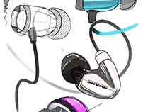 daily sketch - audio products