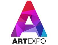Artexpo branding design