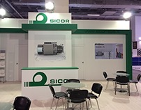 SICOR ELEVATOR Fair Stand for EuroStand