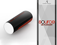 source LED Flashlight