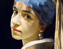 Me with a Pearl Earring