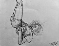 Figure Drawing (Model: Chrissy)