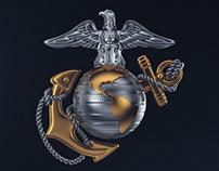 USMC Logo - CGI & Animation