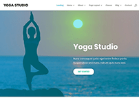 Free Fitness & Yoga Website templates